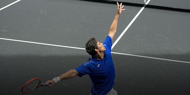 Philippoussis Wins 2015 PowerShares Finale in Vancouver