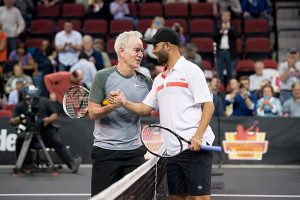 Blake Beats McEnroe in Boston