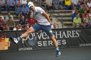 Andy Roddick wins in Little Rock